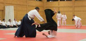 Aikido Kyuprüfungen in Wels, November 2017 - Kokyonage