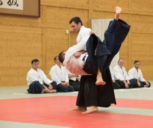 Aikido Kyuprüfungen in Wels, November 2017 - Koshinage