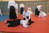 Aikidotraining in Linz Mai 2016